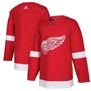 Men's Detroit Red Wings  Red Home  Blank Jersey