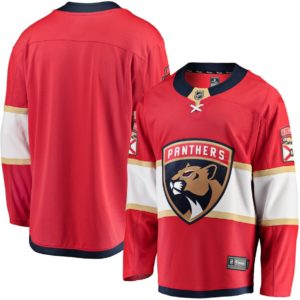 Men's Florida Panthers  Branded Red Breakaway Home Jersey