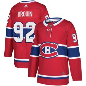 Men's Montreal Canadiens Jonathan Drouin  Red  Player Jersey
