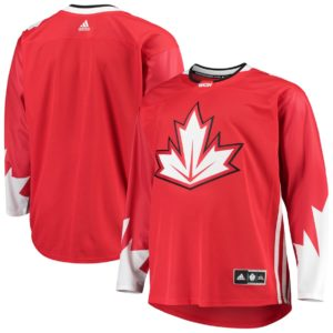 Men's Team Canada  Red 2016 World Cup of Hockey Jersey