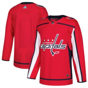 Men's Washington Capitals  Red Home  Blank Jersey